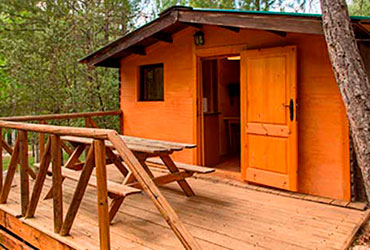 cabana camping sierra cazorla - CAMPING PUENTE DE LAS HERRERÍAS