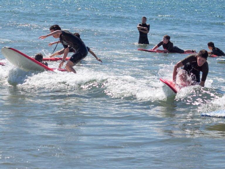 surf cabopino 768x576 - CAMPING CABOPINO