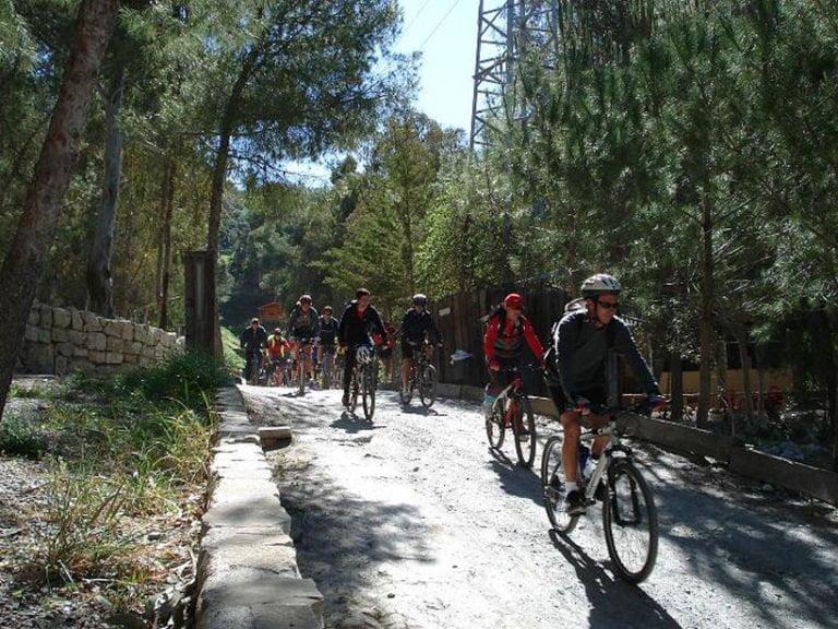camping pueblo blanco bici 768x576 - CAMPING PUEBLO BLANCO