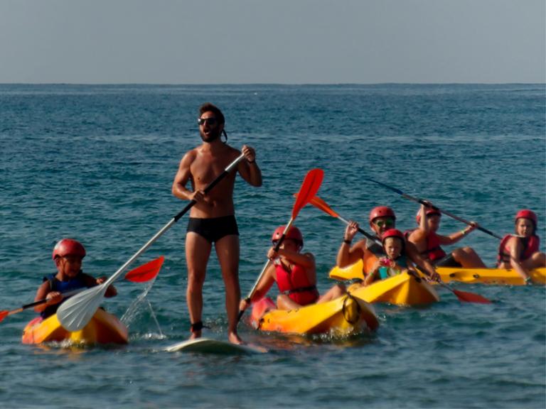 kayak cabopino 768x576 - CAMPING CABOPINO